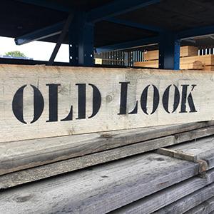 Old Look steigerhout