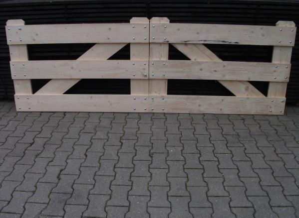 Deuren, poortframes en hekjes