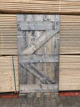 Steigerhouten deur - loftdeur - old look 100x200cm
