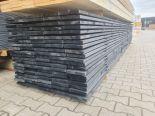 Steigerplank zwart 30x195x5000 mm geïmpregneerd
