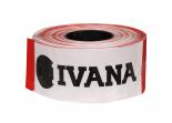 Ivana afzetlint rood/wit 500m