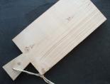 Steigerhouten snijplank blank