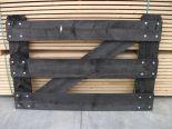 Steigerhouten hek zwart 1mtr(H) 1,5mtr(B) enkel