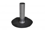 EPDM Aluminium onderuitloopbuis 75mm