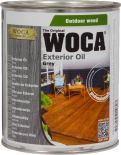 Woca Exterior Oil Antraciet 0,75 L