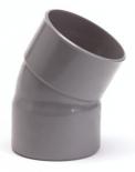 PVC lijmbocht 110mm 30gr m/m