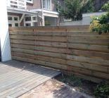 Complete houten schutting 1,8x30m