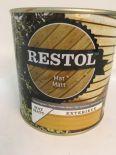 Restol Mat Tuinhoutgroen 0,75 liter