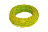 VD draad 2,5 mm geel/groen 100 meter