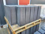 Betonpoer met stelplaat 18/15x50cm antraciet