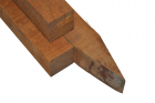 Hardhouten paal 60x60x2500 mm