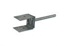 Verstelbare pergoladrager verzinkt 80 - 140 mm